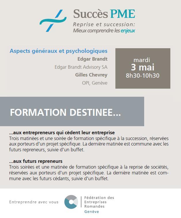 """Formation """"Succès PME"""""""